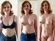 Sexy amateur nude redhead milf private photos shared
