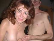 Horny milf with a huge dildo has some fun