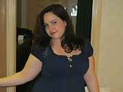 A Curvy Little Cutie - Posing in Lingerie for Photo Set 8